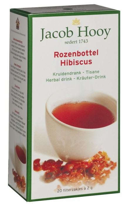 rozebottel hibiscus thee