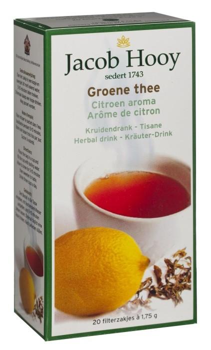 groene thee met citroen